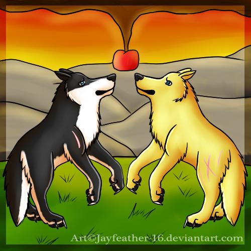 An Apple at Sundown by Jayfeather-16