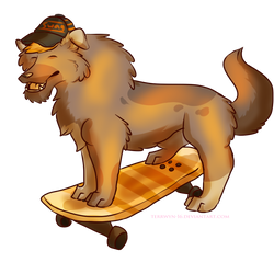 Skateboard Bruh! [Commission]