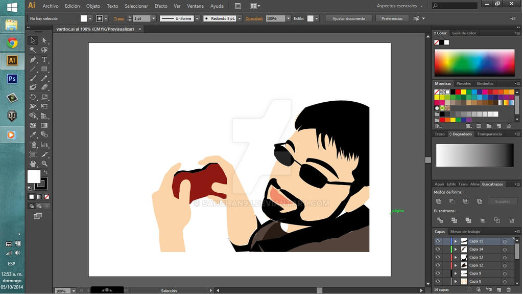 How To Design A Graphic In Adobe Illustrator Cs