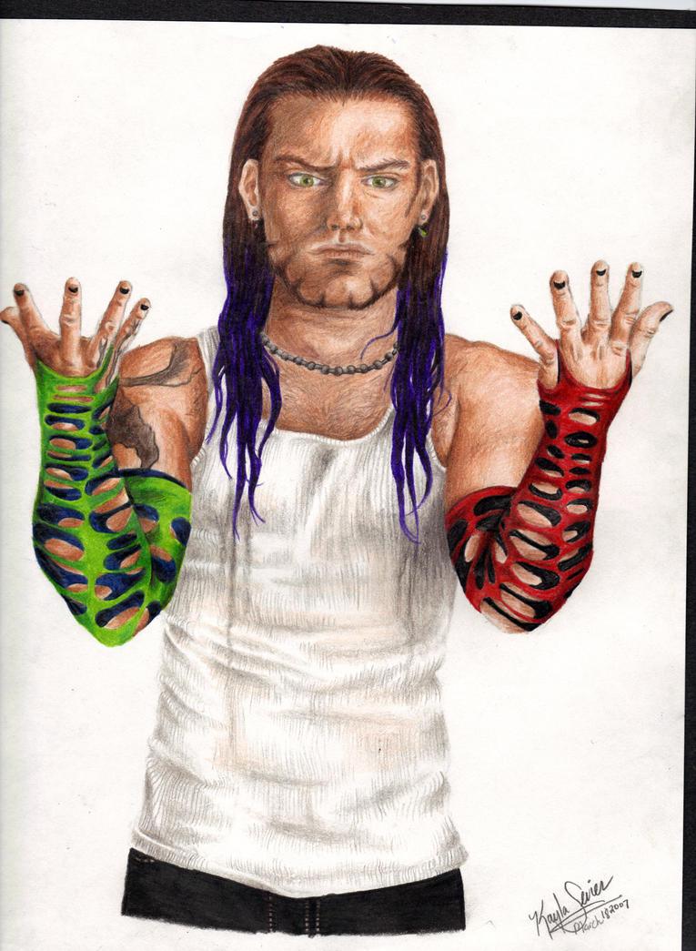 Jeff Hardy By Kaylasevier On Deviantart Jeff Hardy Color Drawing