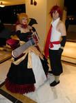 Rozalin and Adell (Disgaea 2) by Kuharai