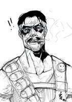 artjam comedian sketch break by KARNxJiro