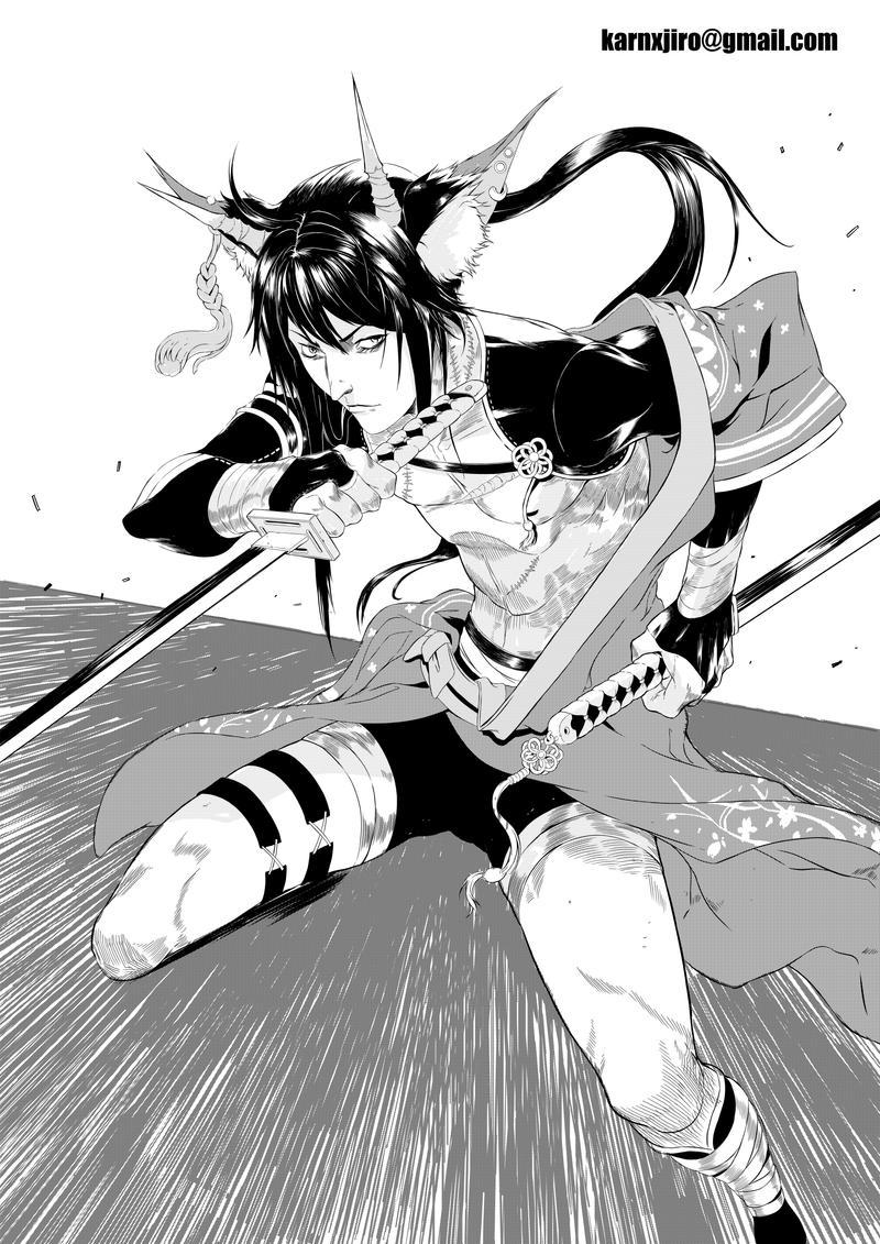 COMMISSION Kirara by KARNxJiro