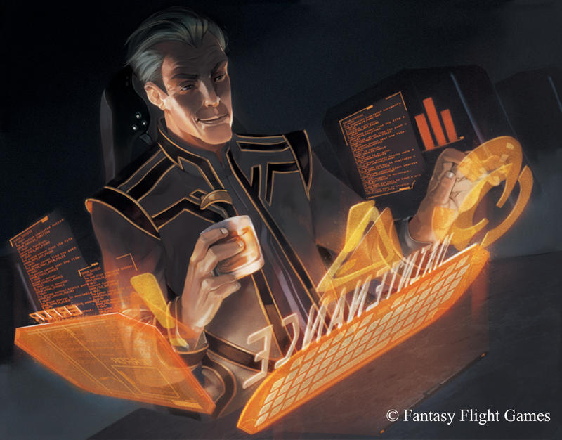 Android:Netrunner Scheduled Maintenance by KARNxJiro