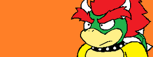Bowser in Sonic form (AGAIN)