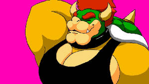 Muscle Shirt Bowser by Stone-Hedgehog