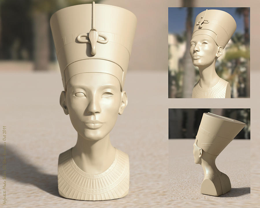 Nefertiti Untouched by hoskins78