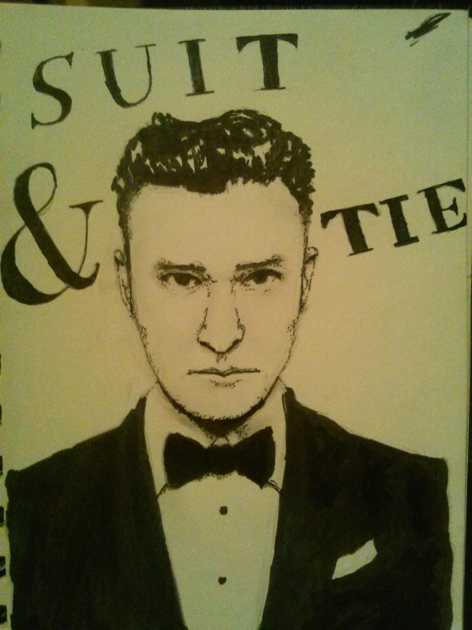 Justin Timberlake suit and tie by DillanMurillo on DeviantArt
