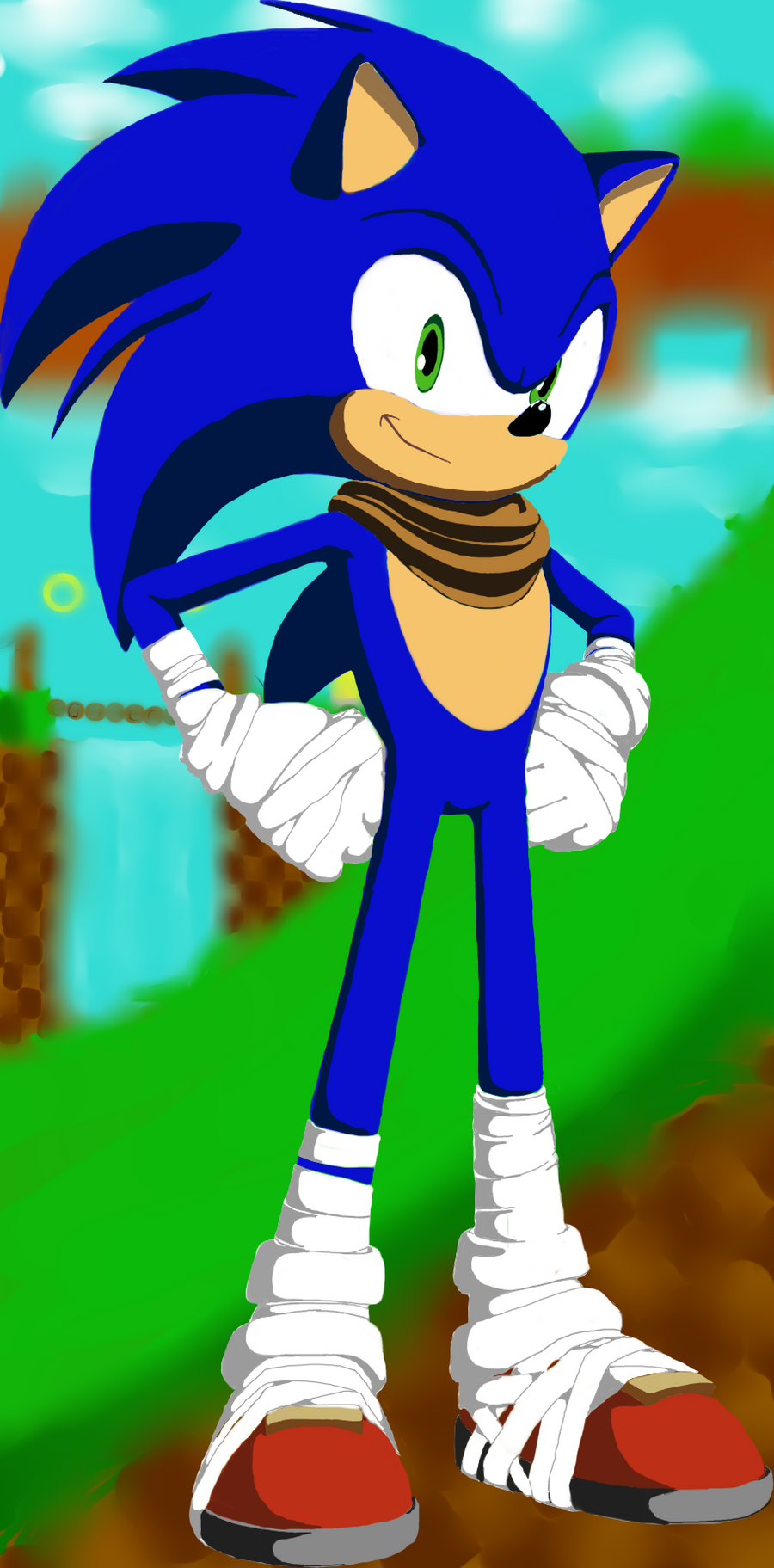 Sonic the Hedgehog (Sonic Boom style) by DillanMurillo on ...