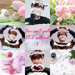 Countdown to Valentine's Day '18 D -7 | Taehyung by rubyheart22