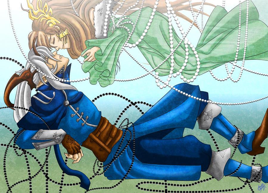 Zankiel and Aurion by kenshymidzu