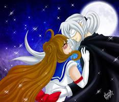 Sailor Zankiel + Tuxedo Aurion by kenshymidzu