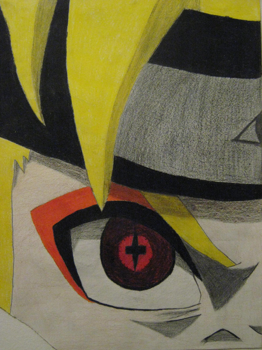 Naruto-Nine Tailed Sage Mode by warwolf555