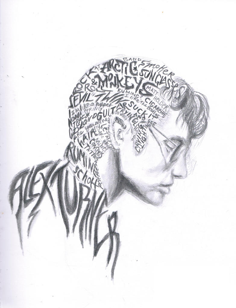 Alex Turner by fenderbox