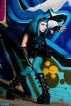 Miss Neon Turquoise II