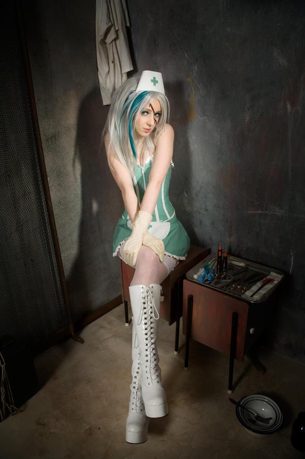 Miss Psycho Nurse I by SaphirNoir