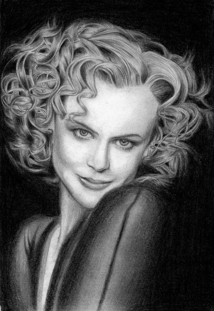 Nicole Kidman by Viktalon