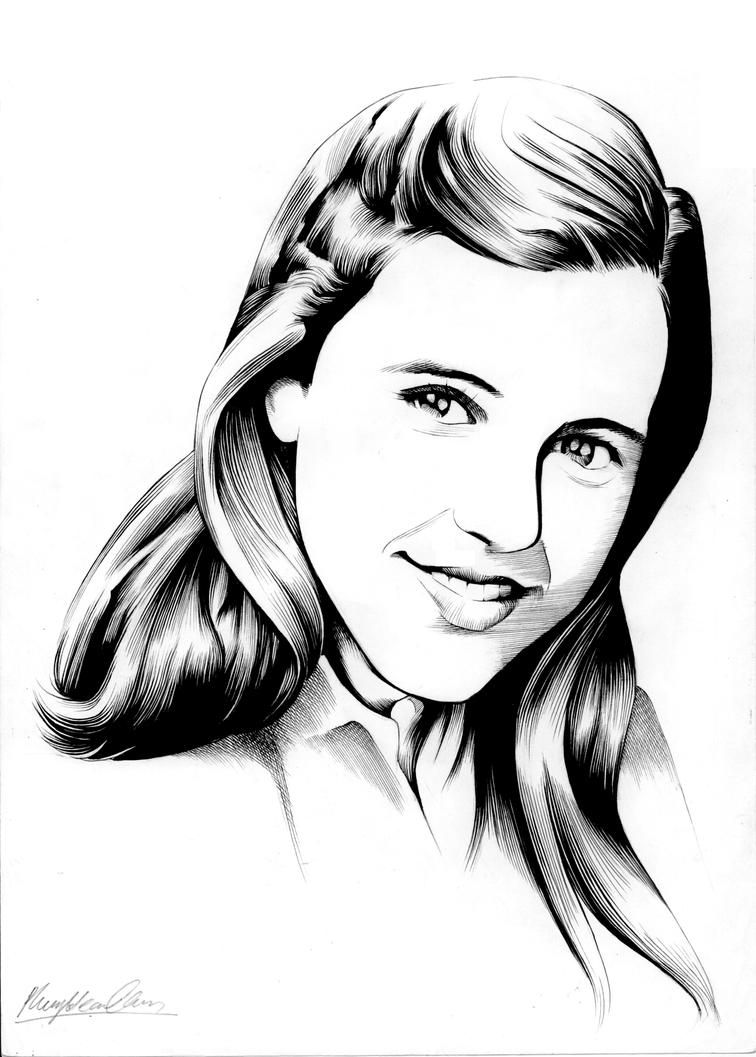 Young Anna by Viktalon