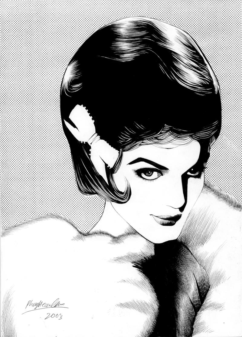 Connie Francis by Viktalon