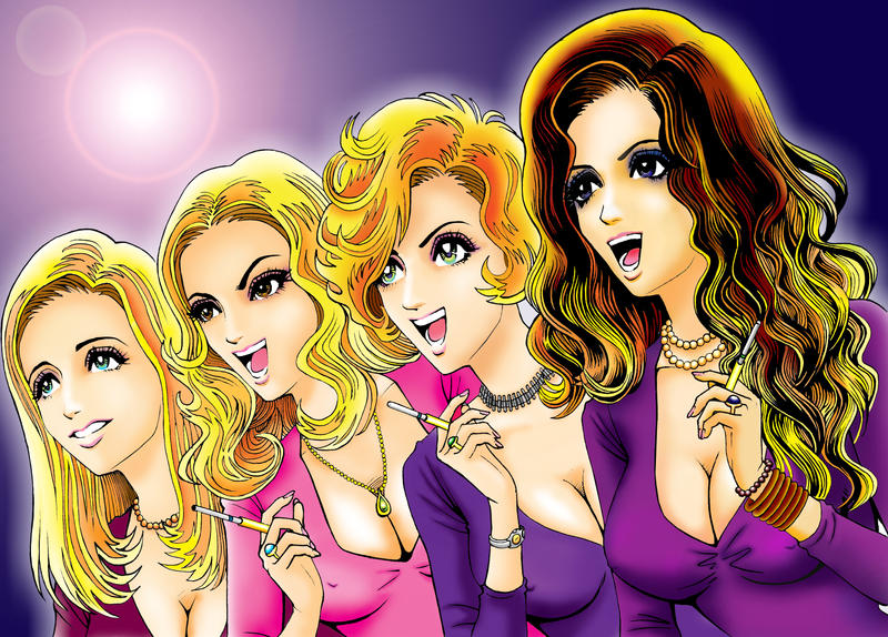 The Girls II by Viktalon