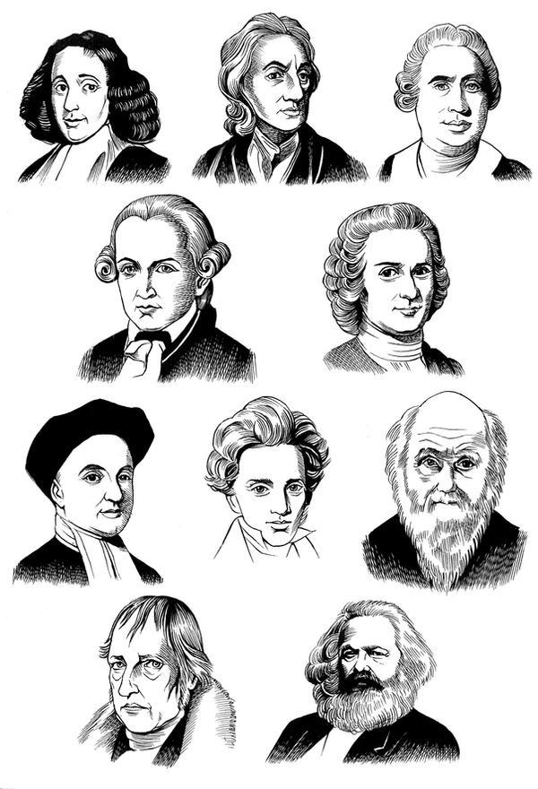 Citaten Karl Marx : The modern philosophers by viktalon on deviantart
