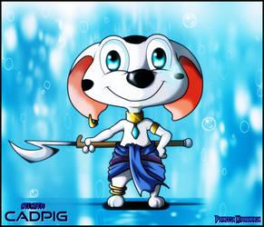 Cadpig as Princess Kidagakash - Queridinha by Craig-Kun-Bp