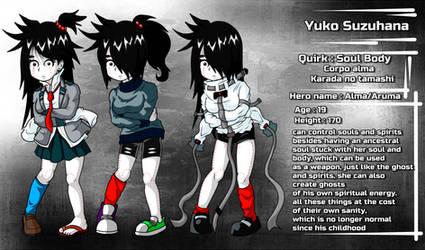 Yuko Suzuhana BNHA OC