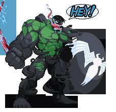 Venom Hulk sprite by rycerickz