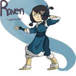 Raven Waterbender Concept