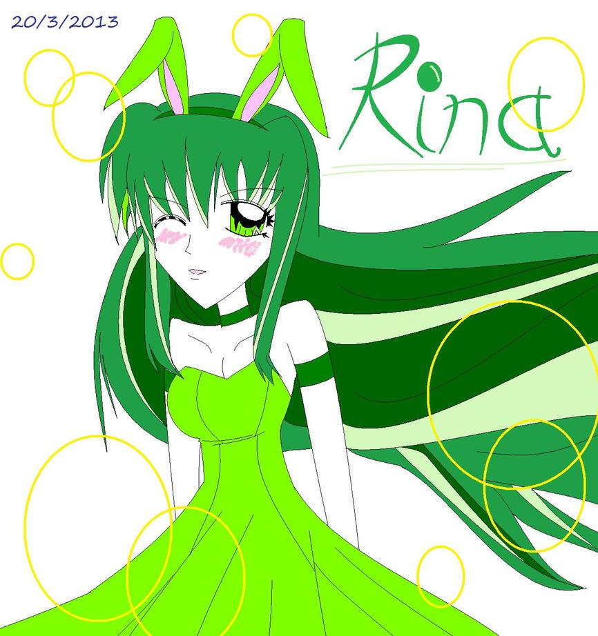 Rina Touin Kawaii Bunny by vivian274