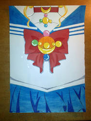 DIY: Sailor Moon Book Cover by vivian274