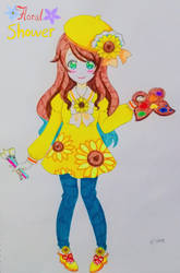 Sunflower Acrylic Coord~ by vivian274