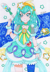Star Twinkle Precure - Cure Milky by vivian274