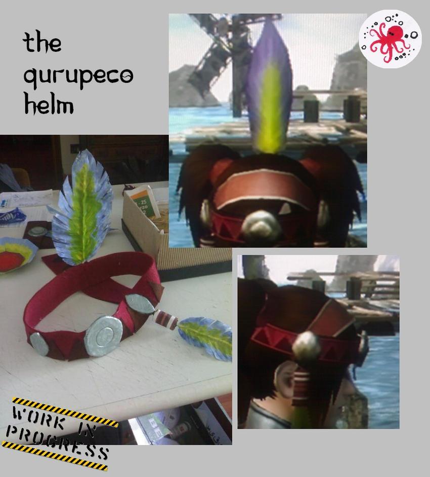 QURUPECO ARMOR HELM By