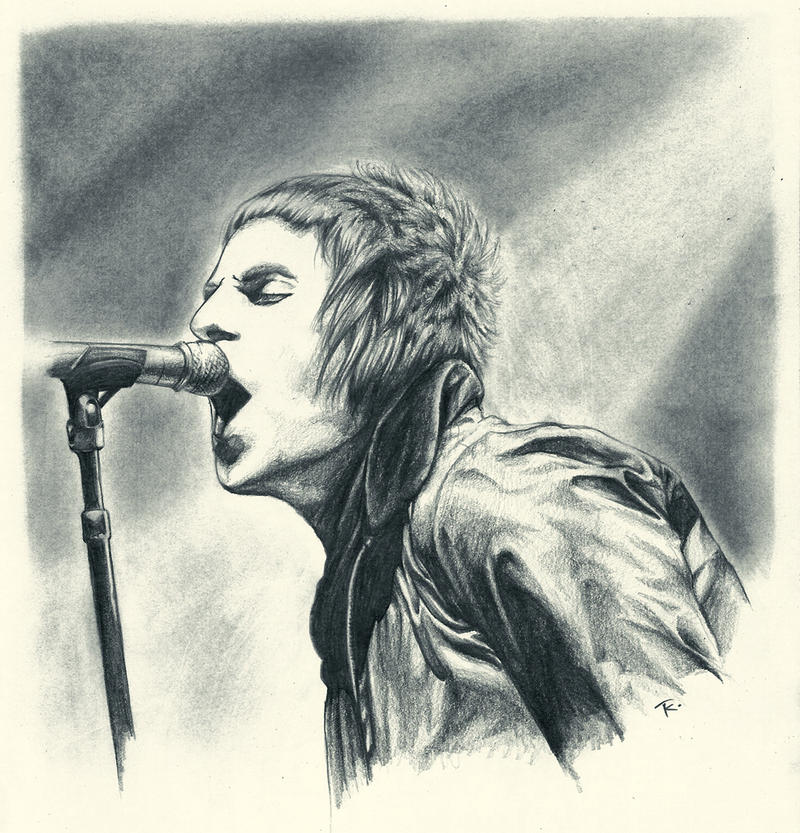 Liam Gallagher by s-scattered on DeviantArt Liam Gallagher Tour