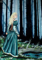 In the woods of Nan Elmoth by s-scattered