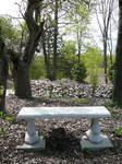 Park Bench Stock Background