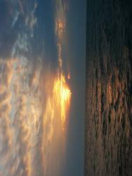 Sunset at Lake Michigan Stock by Enchantedgal-Stock