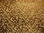 Gold Mosaic Tile Texture Stock