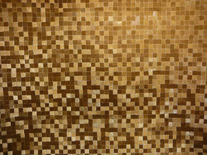 Gold Mosaic Tile Texture Stock