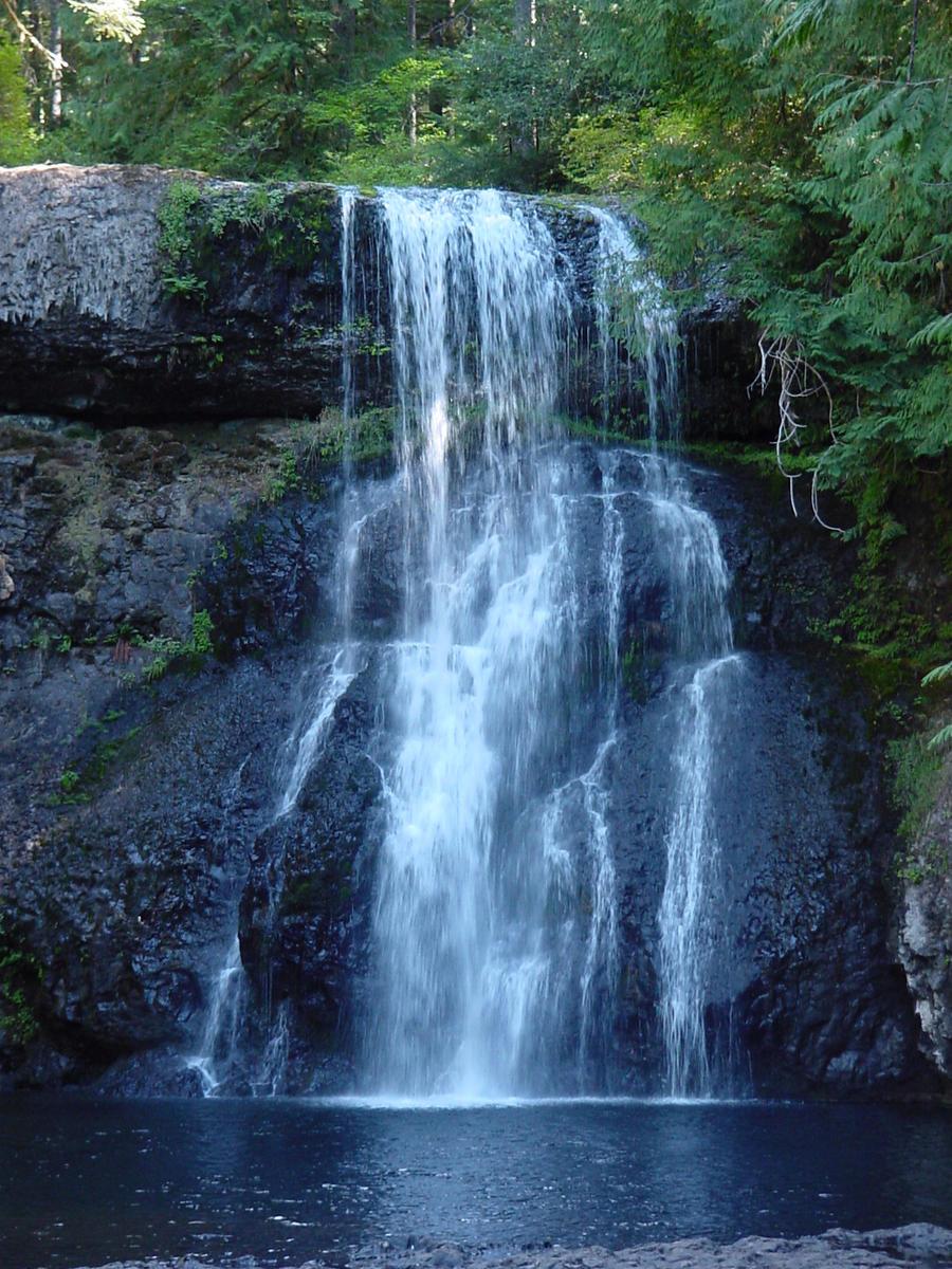 Waterfall landscape stock by enchantedgal stock on deviantart for Waterfall landscape
