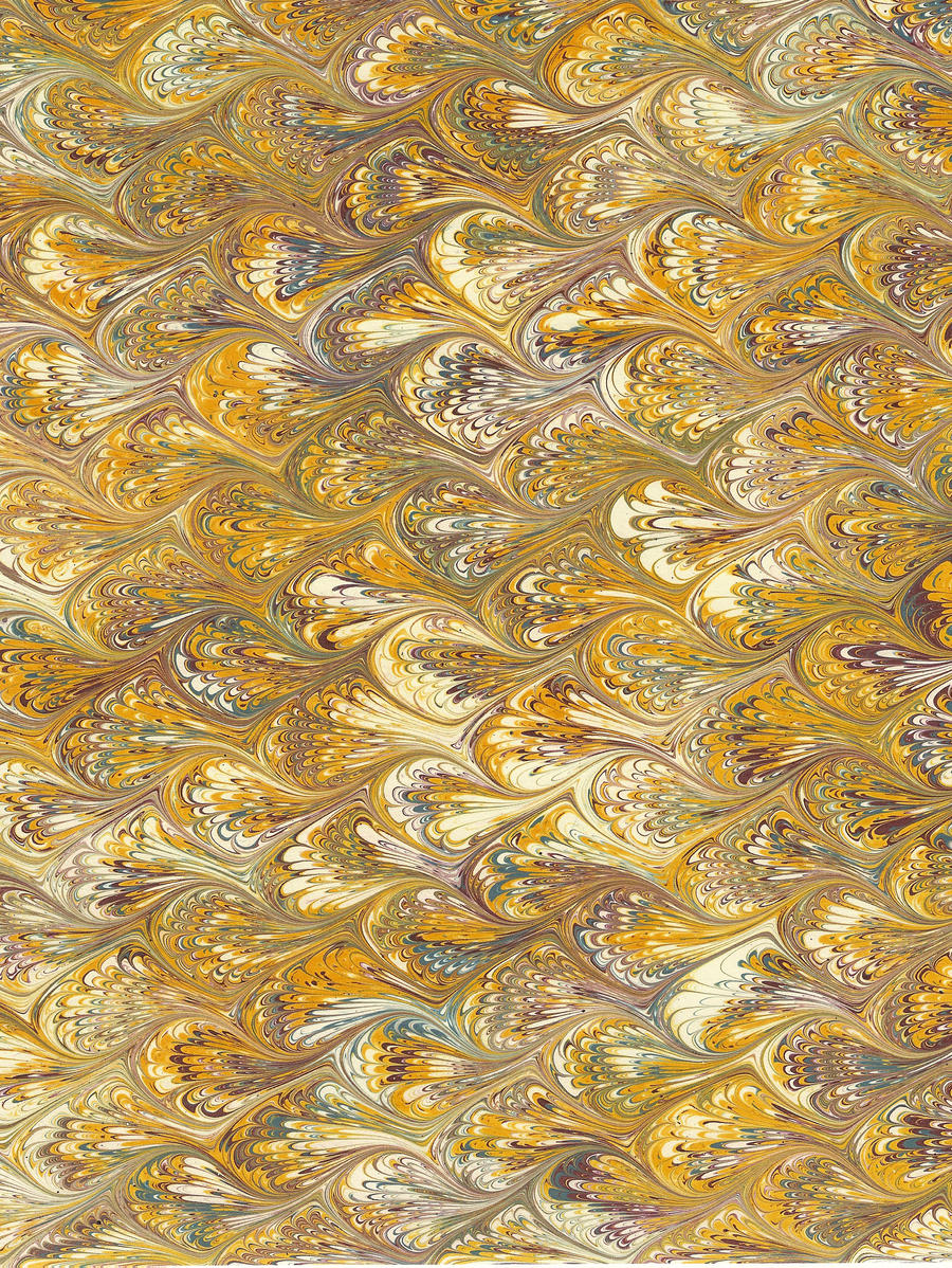 Marbled Ink Paper Texture