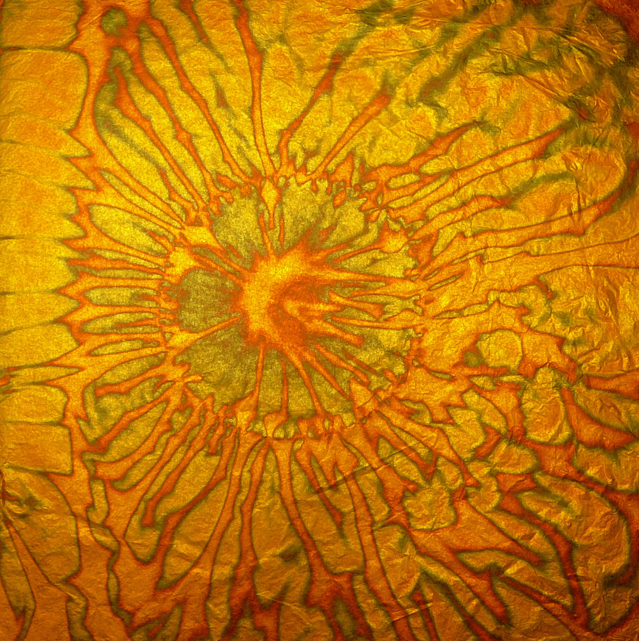 Green Copper n Gold Metal Leaf by Enchantedgal-Stock
