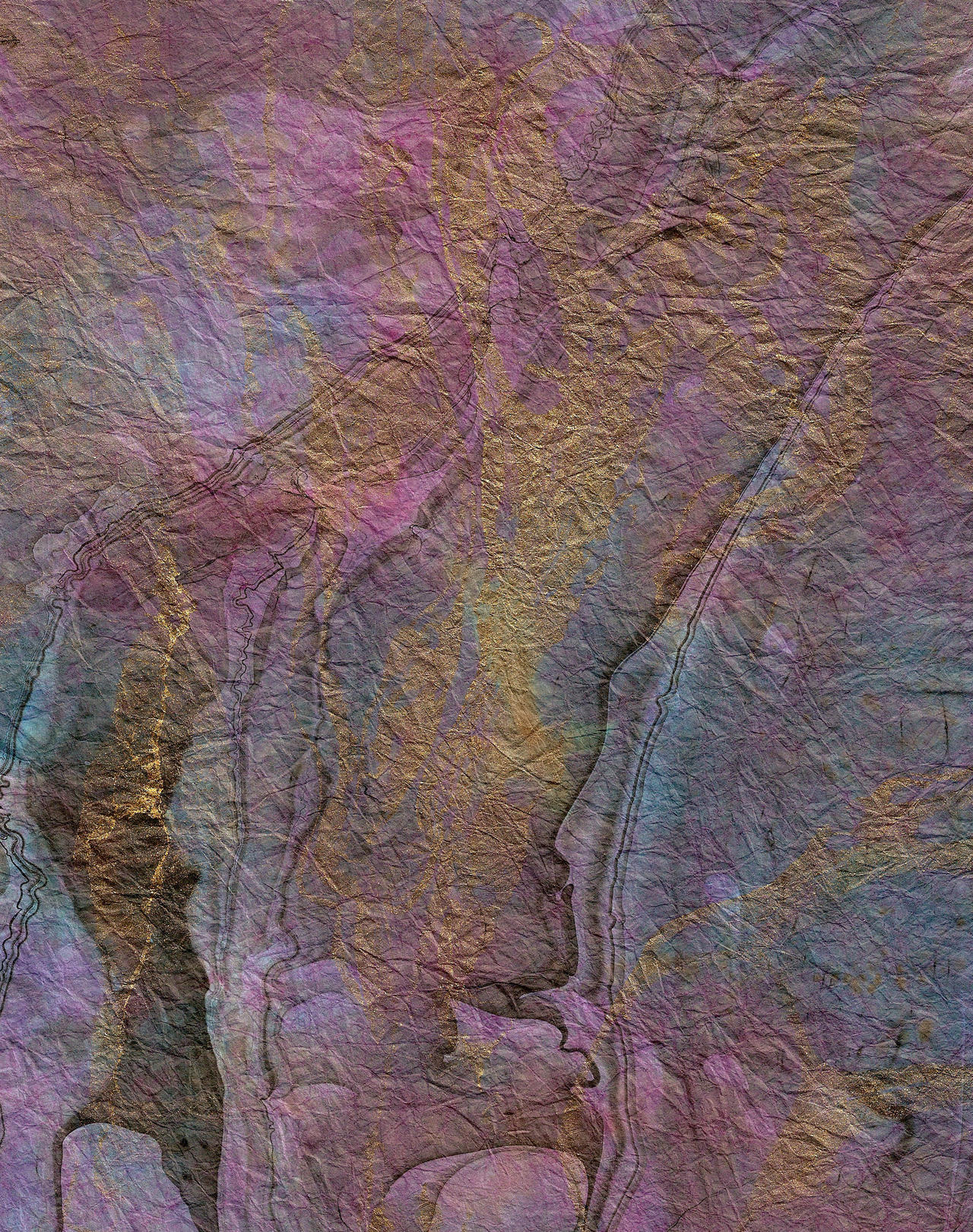 Flowing Inks Paint Art Texture