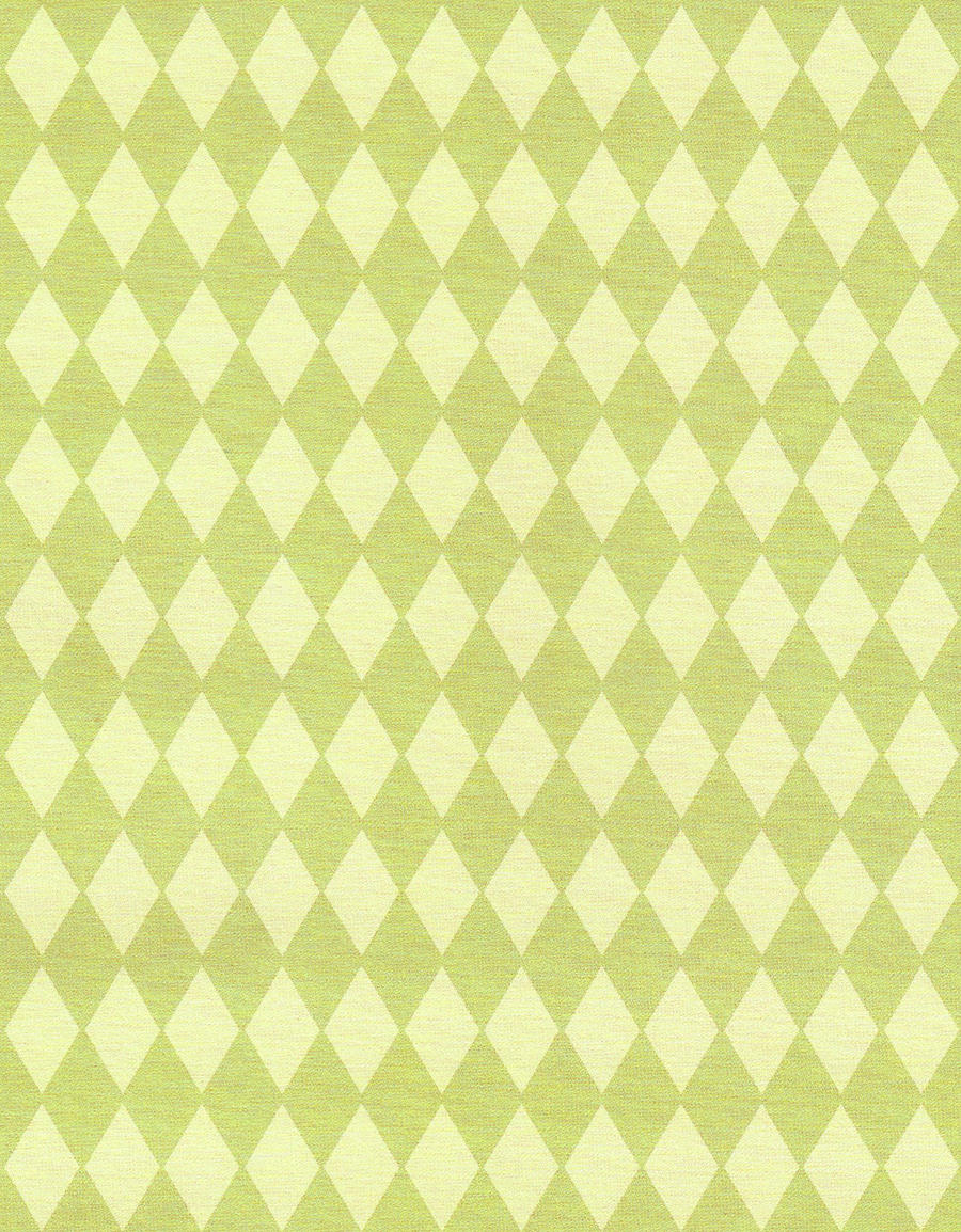 Vintage diamond pattern wallpaper