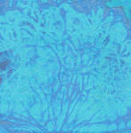 Frost Blue Watercolor Texture