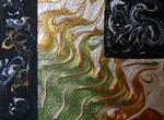 Acrylic Texture Paint Stock