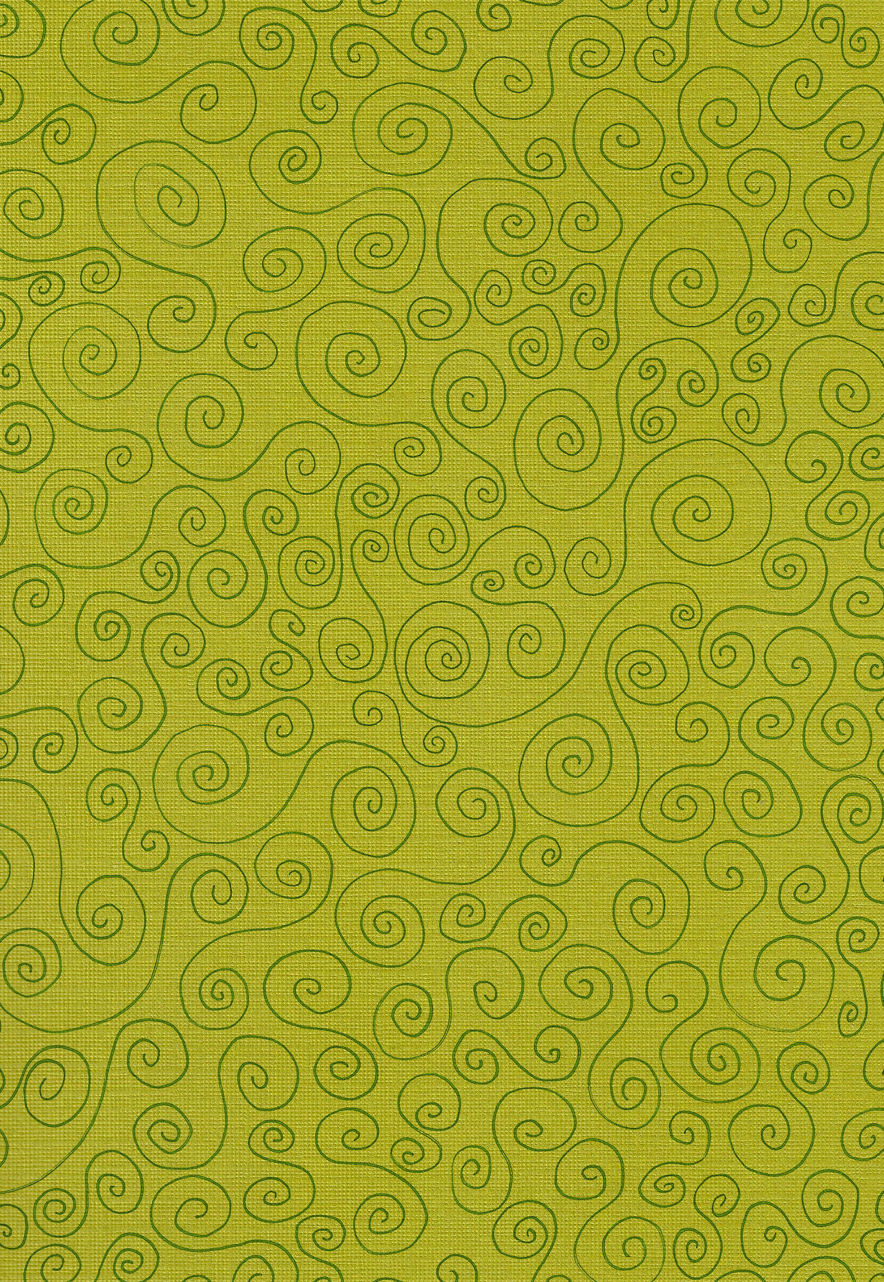 Texture - Green Swirls Paper