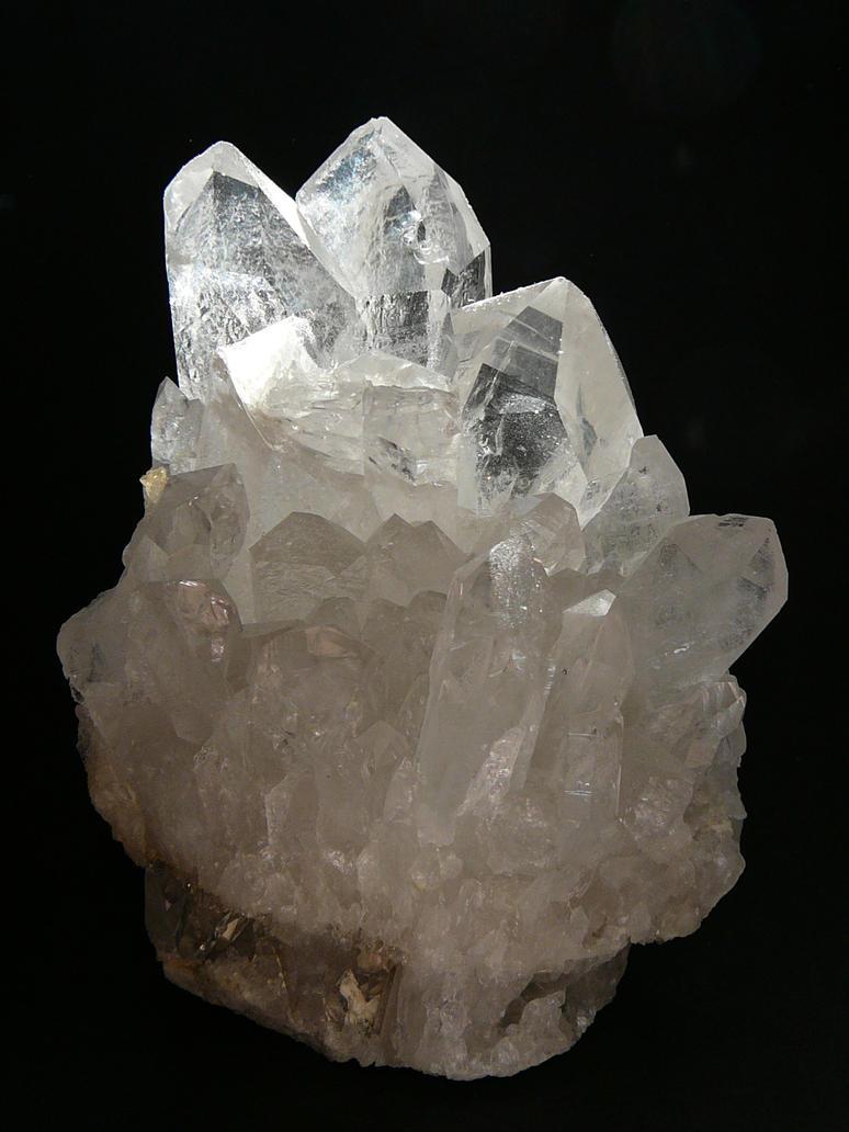 Large Quartz Crystal Stock by Enchantedgal-Stock