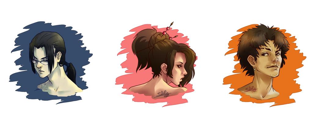 Samurai Champloo by VickyPlz22
